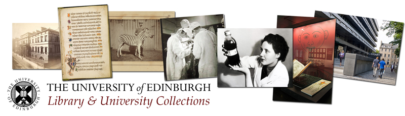 The University of Edinburgh: Library and University Collections